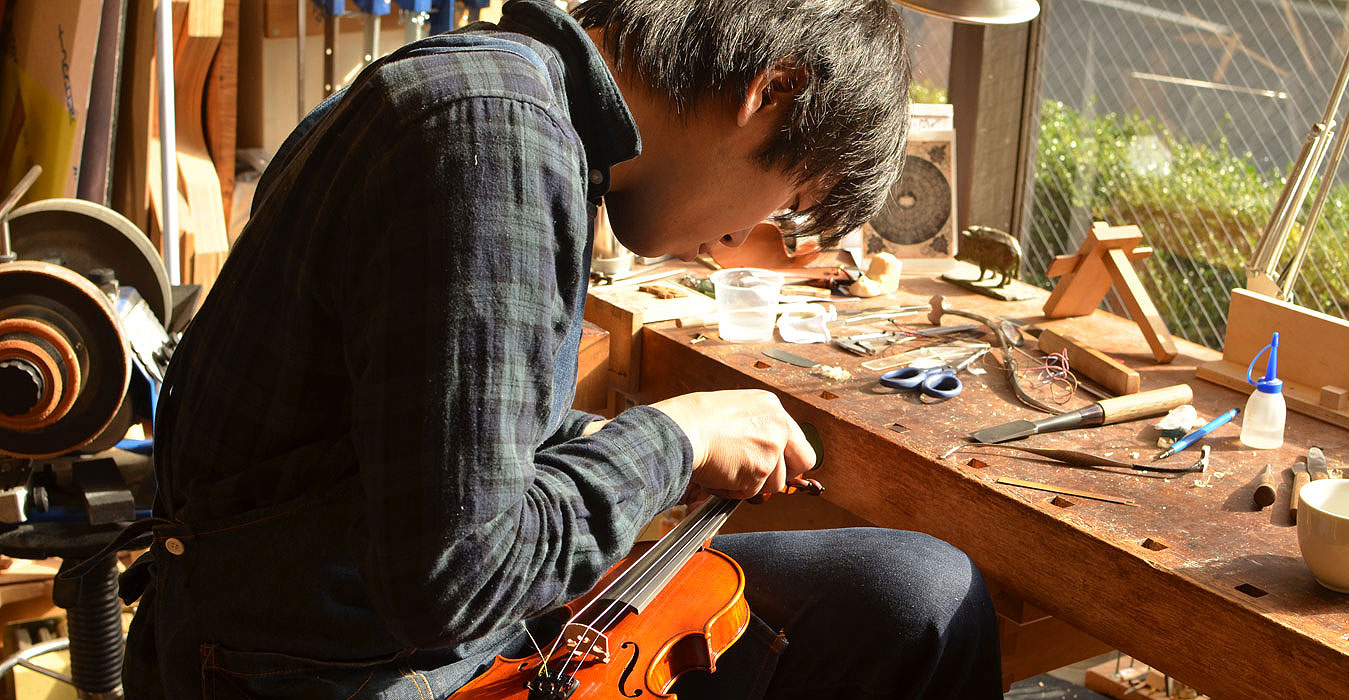 大阪でバイオリンの修理を依頼するなら【Liuteria-BATO】 | Yuji Nishimura 西村 祐司