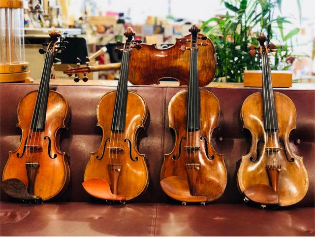 大阪でバイオリン(オールド・モダン)をお探しなら【Liuteria-BATO】へ〜アフターケアも万全〜