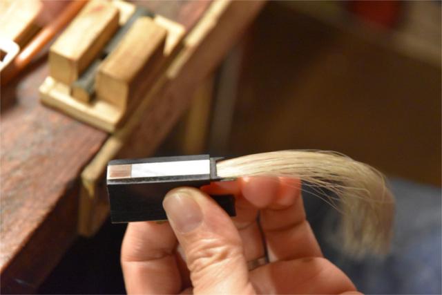 弓の毛替えをご検討中でしたら【Liuteria-BATO】へ