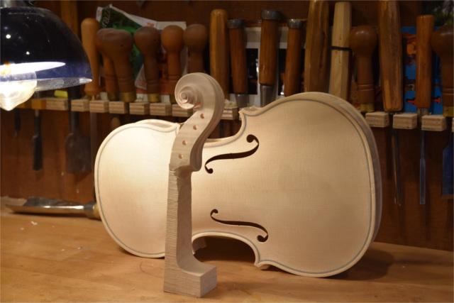 バイオリン・ビオラ・チェロの制作は【Liuteria-BATO】まで