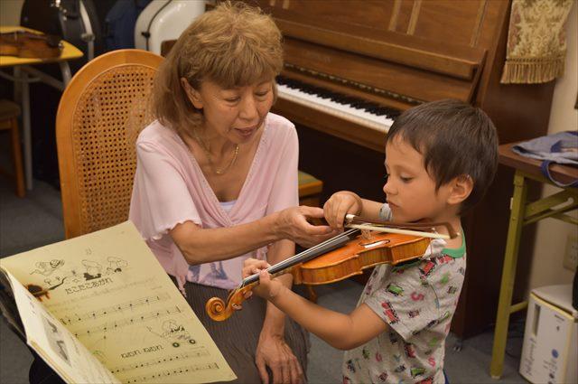 子供に合った分数バイオリンの選び方